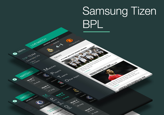 Samsung Tizen Phone apps for BPL